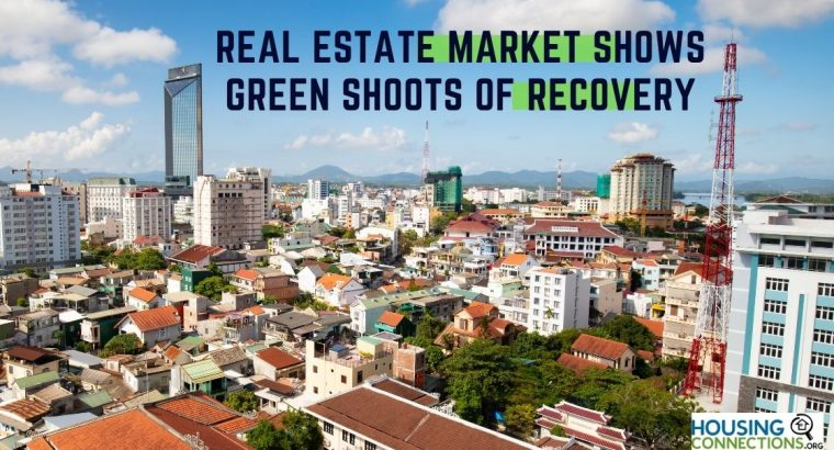 REAL ESTATE MARKET SHOWS GREEN SHOOTS OF RECOVERY